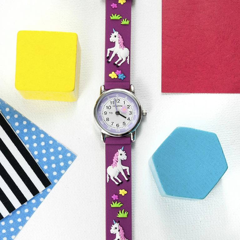 Personalised Kids Unicorn Watch – Your Message