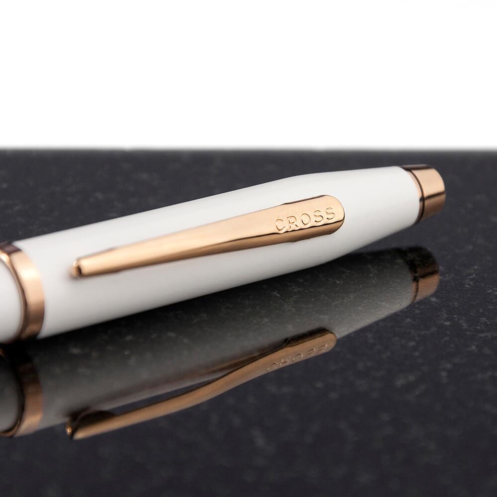 Personalised Cross Century II Pen in White