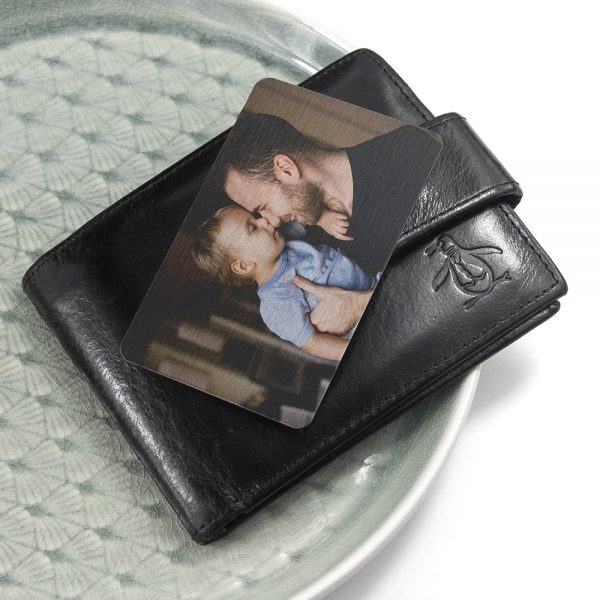 Personalised Favourite Memory Wallet Insert – Upload Your Photo