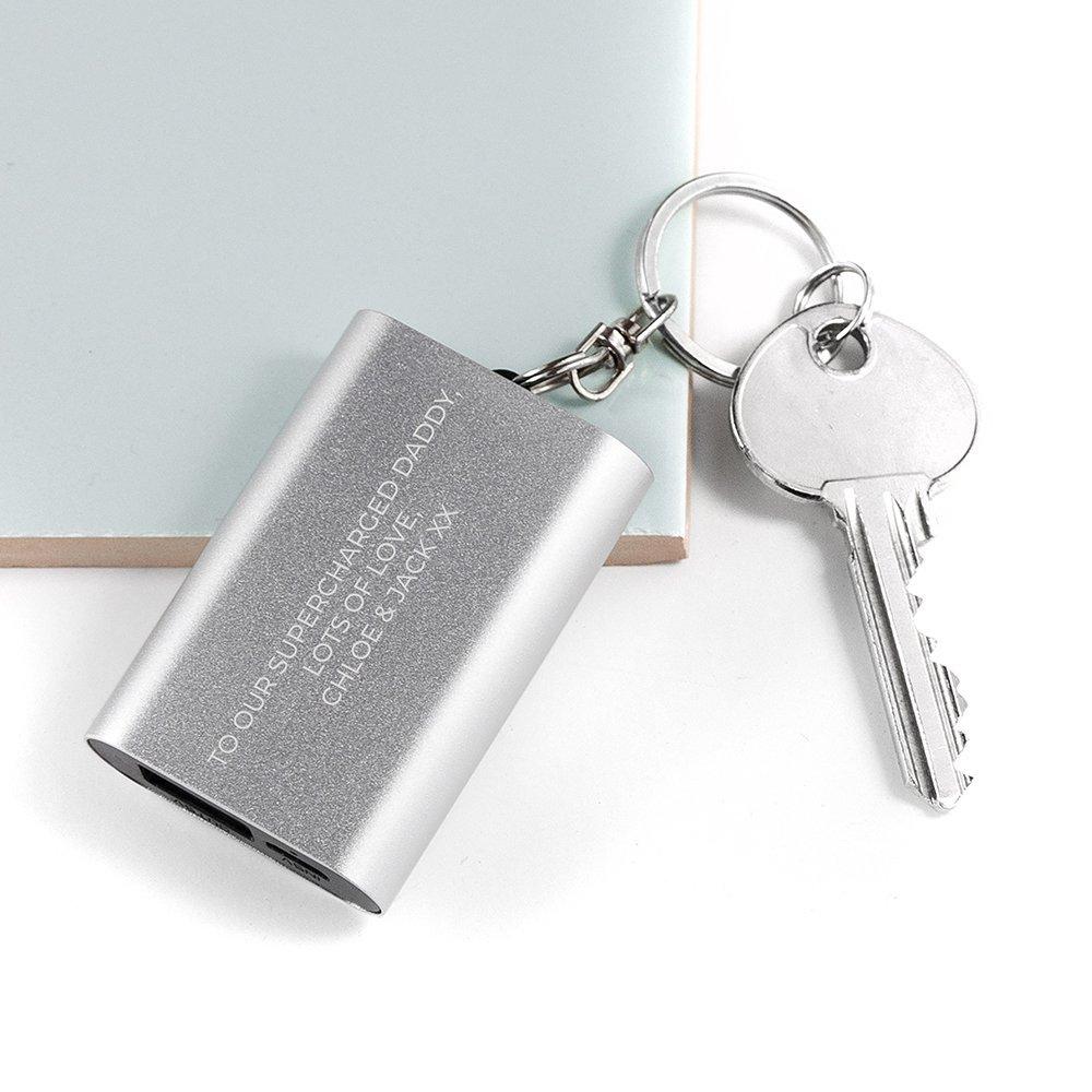 Personalised Engraved Powerbank Key Ring