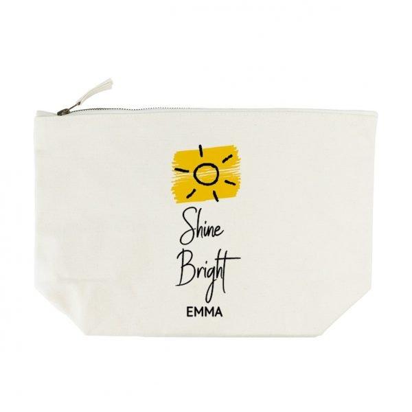 Personalised Wash Bag – Shine Bright