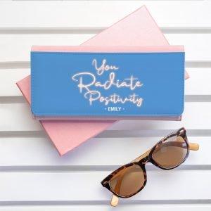 Personalised Wallet – Radiate Positivity