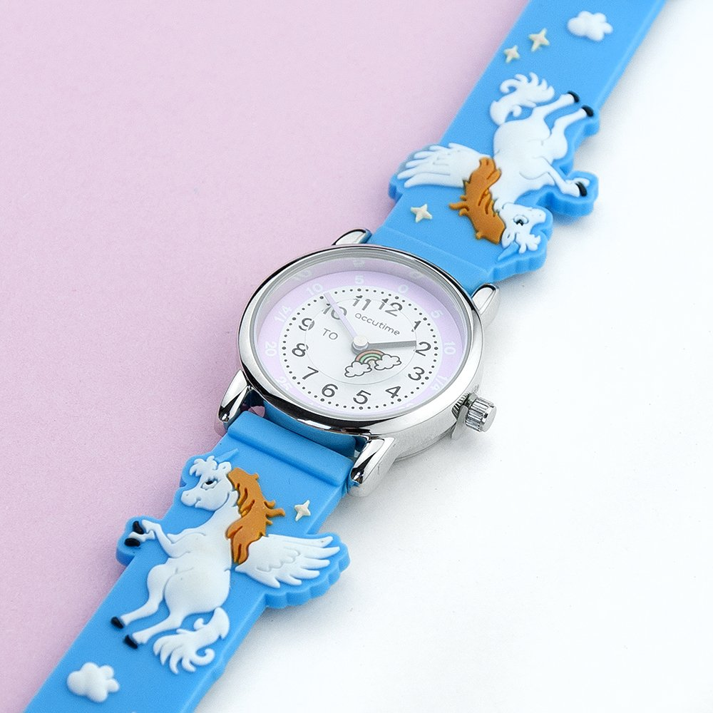 Personalised Kids Rainbow Watch – Your Message
