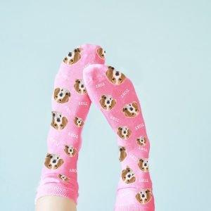 Personalised Pet Socks – Upload Your Pet Photo