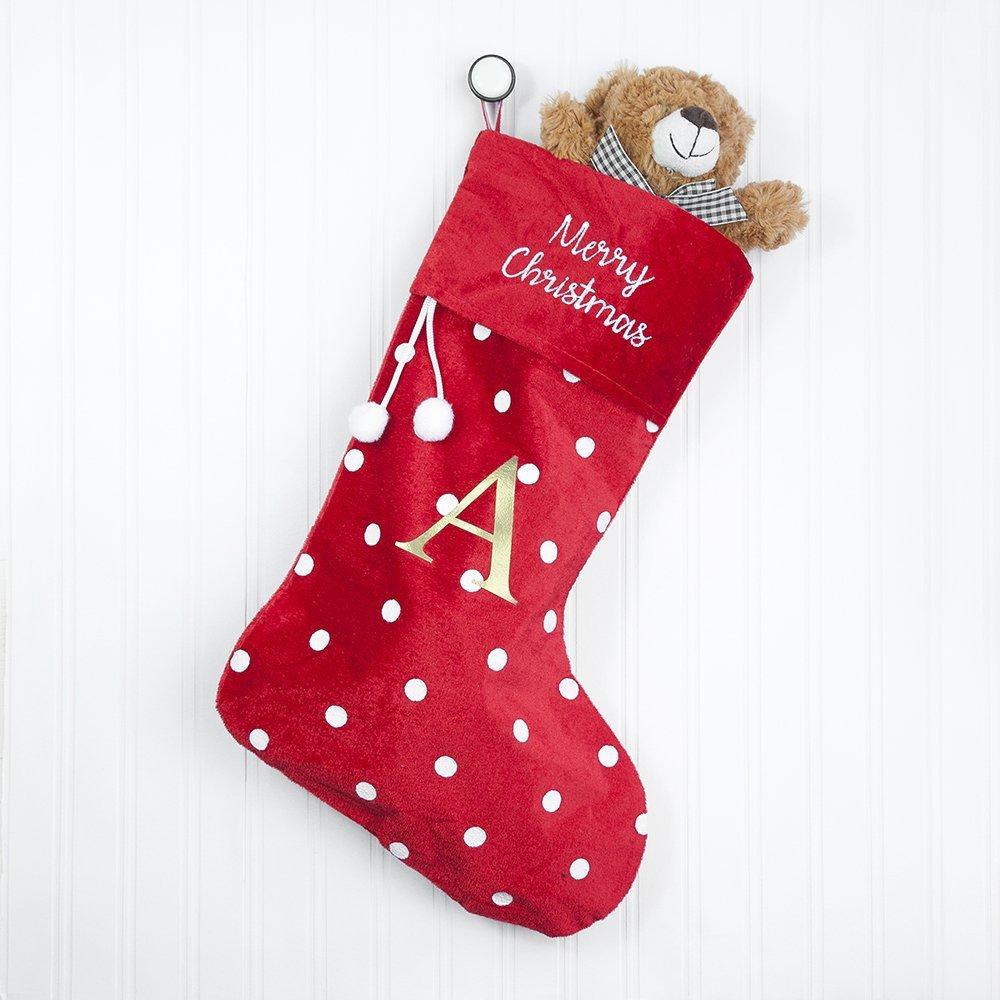 Personalised Polka Dot Christmas Stocking