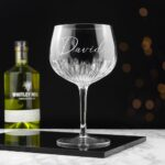 Personalised Crystal Gin Goblet – Name