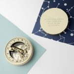 Personalised Iconic Adventurer's Sundial & Compass (No Icon)