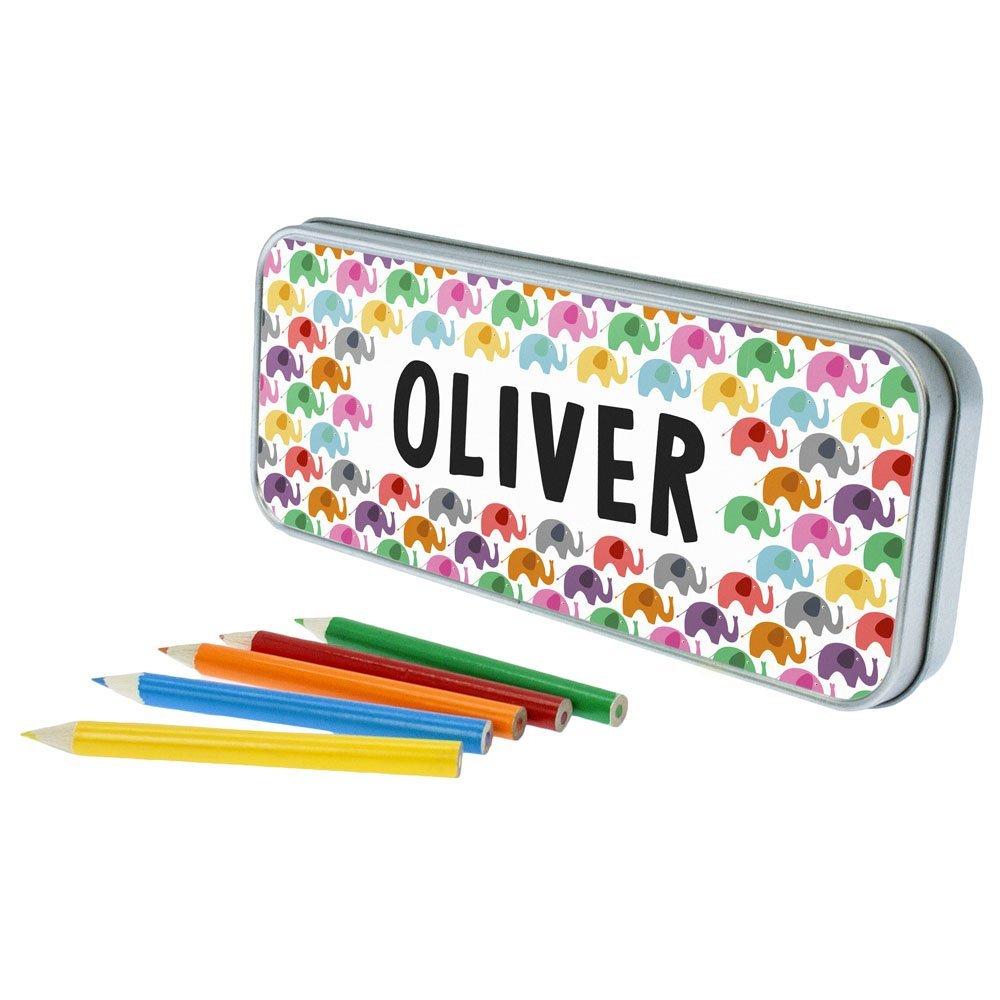 Personalised Elephant Pencil Case