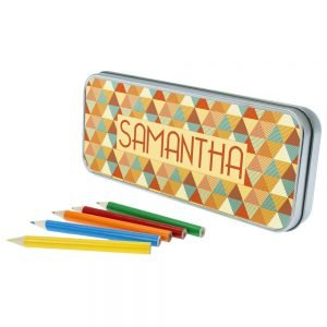 Personalised Pyramids Pencil Case