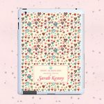 Personalised Tablet & Ipad Case – Thousand Hearts