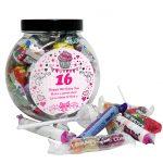 Personalised Age Sweet Gift Jar