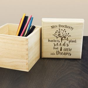 Personalised Gift Box – Teacher's Plant Seeds