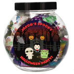 Personalised Halloween Sweet Gift Jar