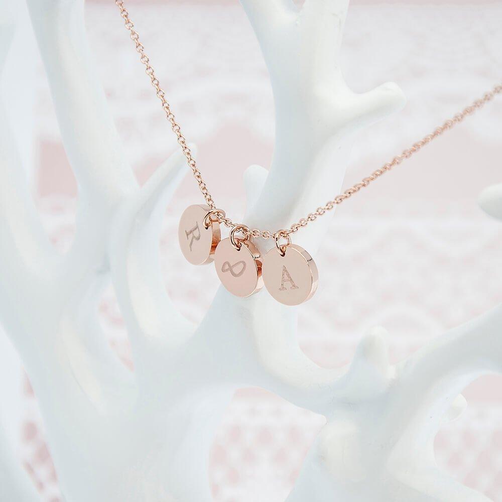 Personalised Necklace & Keepsake – You & Me Forever