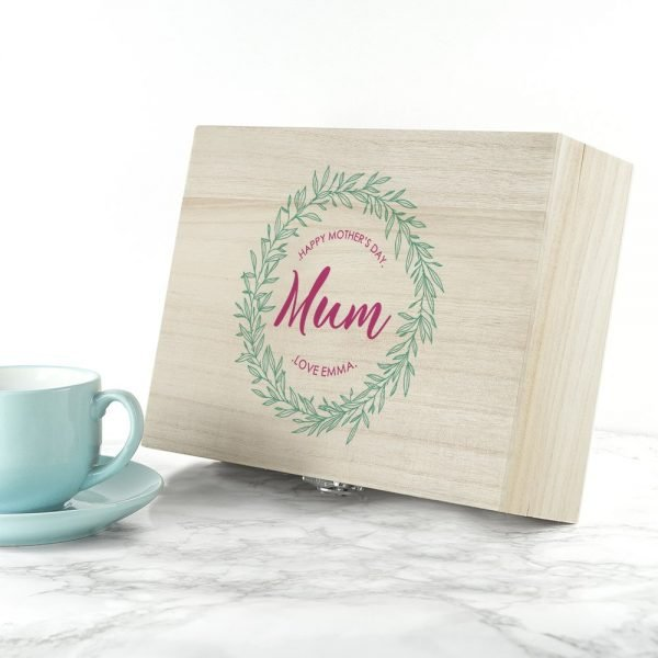Personalised Tea Box – Mother's Day