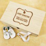 Personalised Memory Box – Baby Acorn
