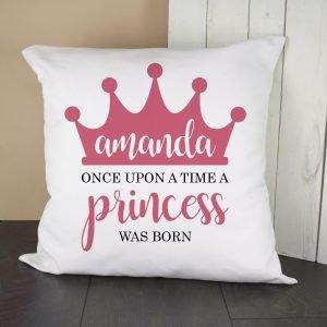 Personalised Cushion Cover – Princess