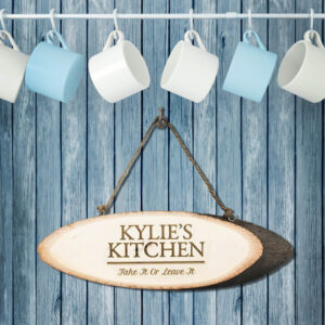 Personalised Wooden Sign – Your Kitchen