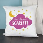 Personalised Cushion Cover – Sweet Dreams