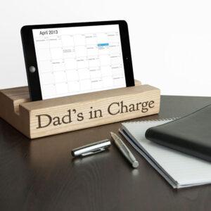 Personalised Tablet Holder – Single Office Desk