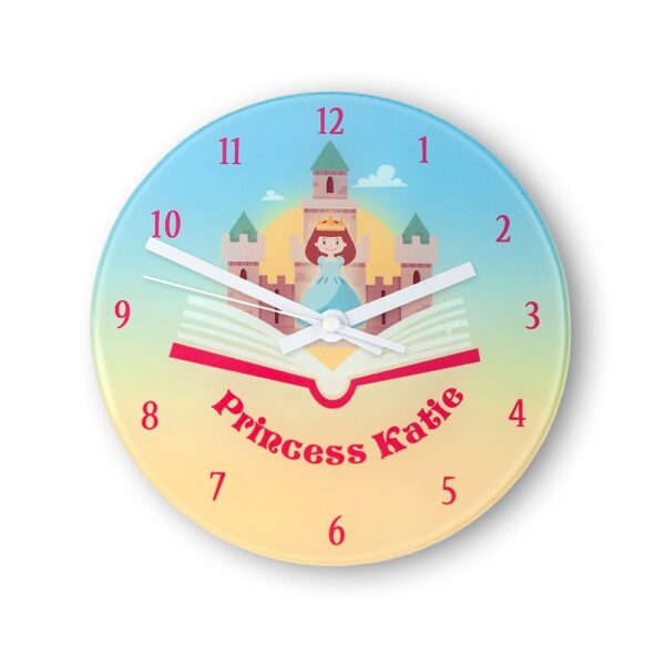 Personalised Wall Clock – Storyboard Princess