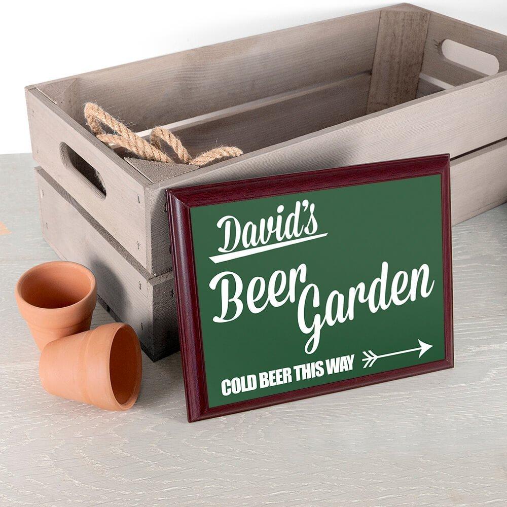 Personalised Wooden Sign – Beer Garden