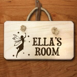 Personalised Wooden Sign – Fairy