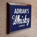 Personalised Wooden Sign – Whisky Corner