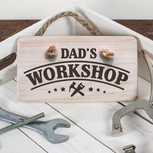 Personalised Wooden Sign – Workshop