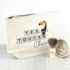 Personalised Wash Bag – Yes Toucan