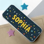 Personalised Planets & Space Pencil Case