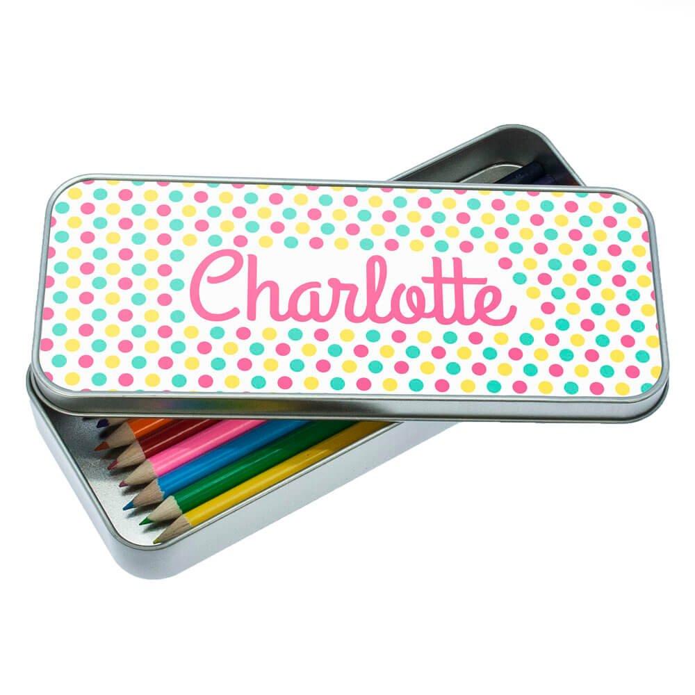Personalised Pop Art Pencil Case