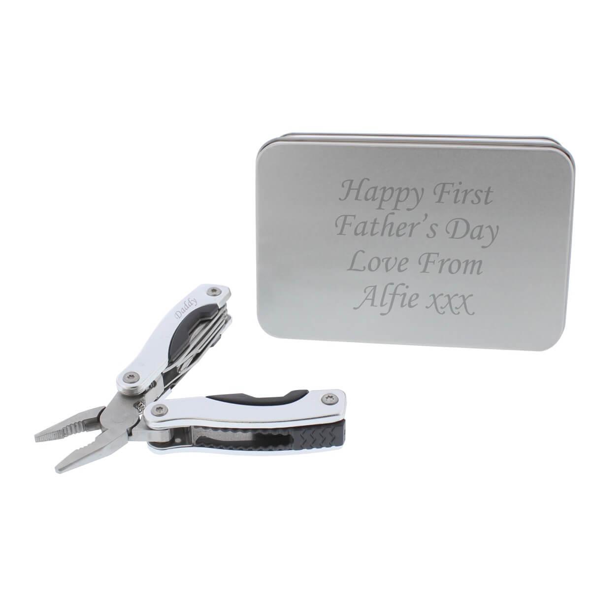 Personalised Stainless Steel Multifunctional Pliers
