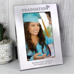 Personalised Graduation 6×4 Silver Photo Frame