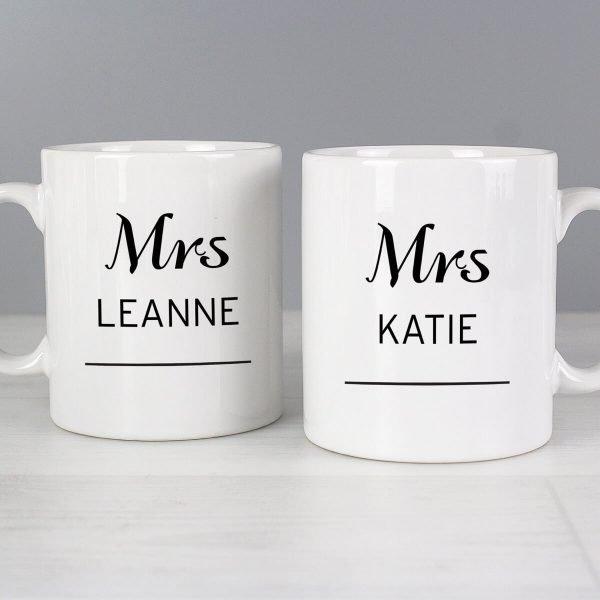 Personalised Classic Mug Set