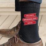 Personalised Banner Design Men's Socks