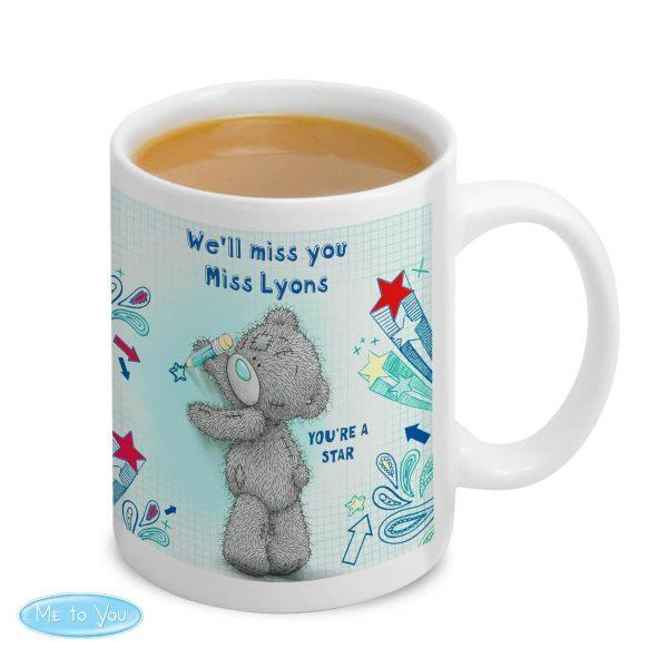 Personalised Me to you Teacher Mug