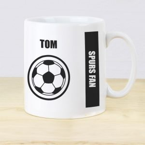 Personalised Football Fan Mug