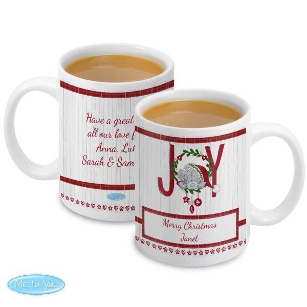 Personalised Me To You JOY Mug