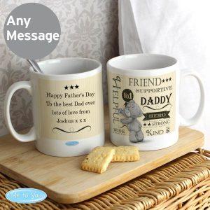 Personalised Me To You Typographic Mug