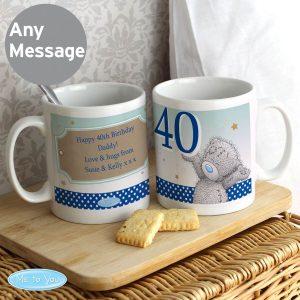 Personalised Me To You Birthday Big Age Male Mug