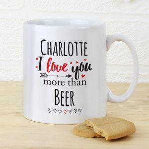 Personalised I Love You More Than… Mug