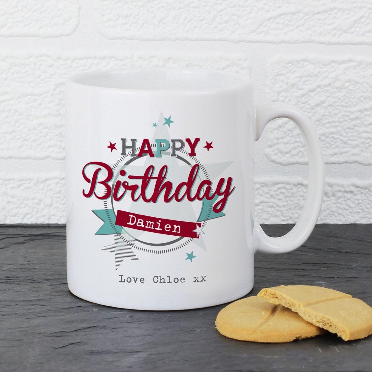 Personalised 50s Retro Mug