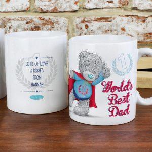 Personalised Me To You Super Hero Mug