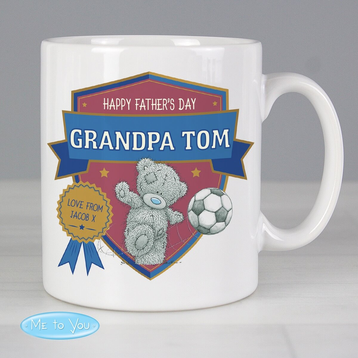 Personalised Me to You Football Mug