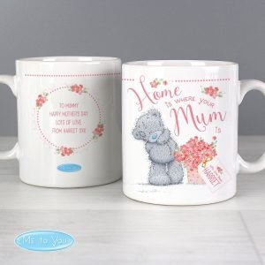 Personalised Me to You Home is Where Your Mum is Mug