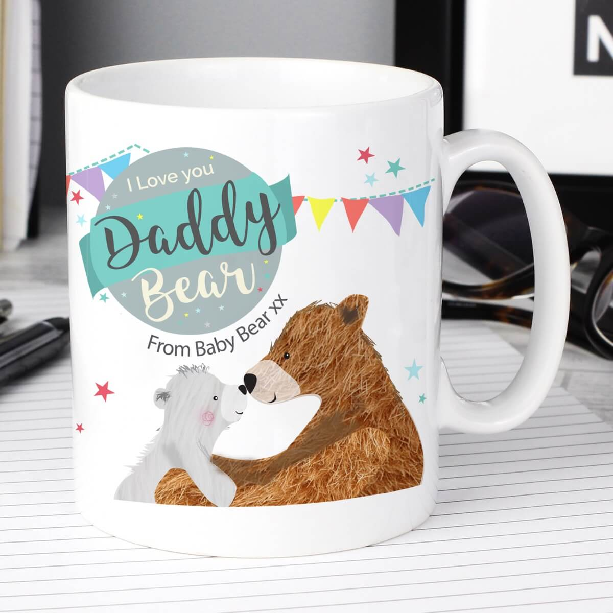 Personalised Daddy Bear Mug