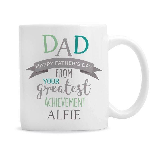 Personalised 'Dad's Greatest Achievement' Mug