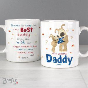 Personalised Boofle Most Amazing Daddy  Mug