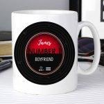 Personalised Vintage Record Mug